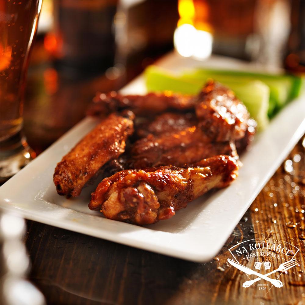 Speciální Chicken Wings menu