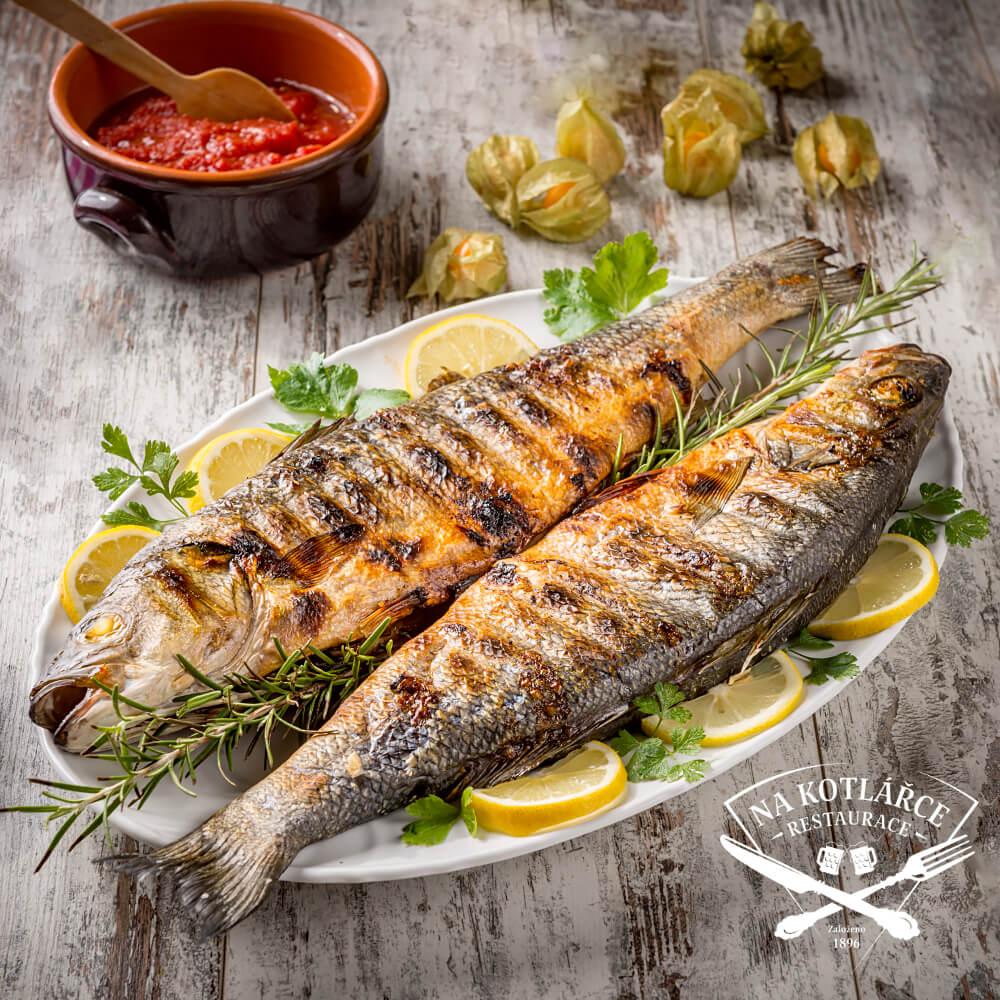 Speciální rybí menu